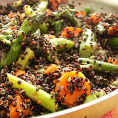Quinoa and Asparagus