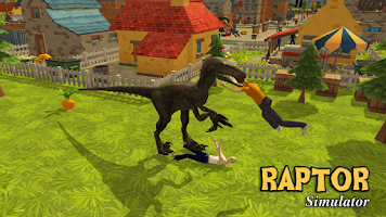 Screenshot of Raptor Dinosaur Simulator 3D