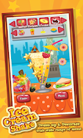 Screenshot of Ice Cream Shake Maker Salon