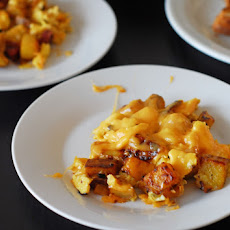 Gouda and Chorizo Hash