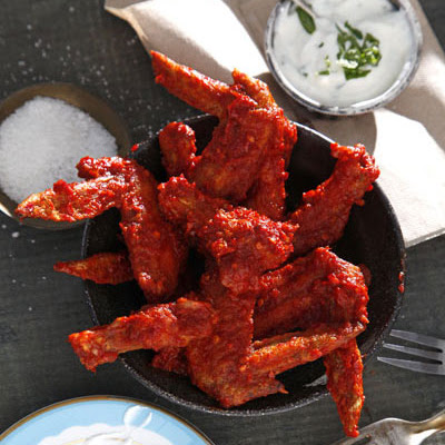 Harissa Hot Wings