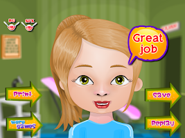 Screenshot of Pimple Trouble Girls Games