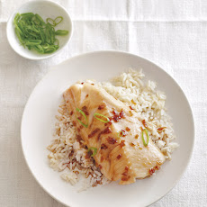 Roasted Black Cod with Korean Flavors