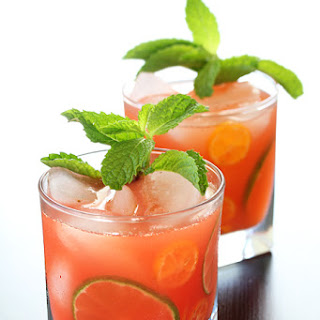 Strawberry and Kumquat Caipirinha