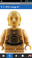 Screenshot of The LEGO Minifigure Catalog