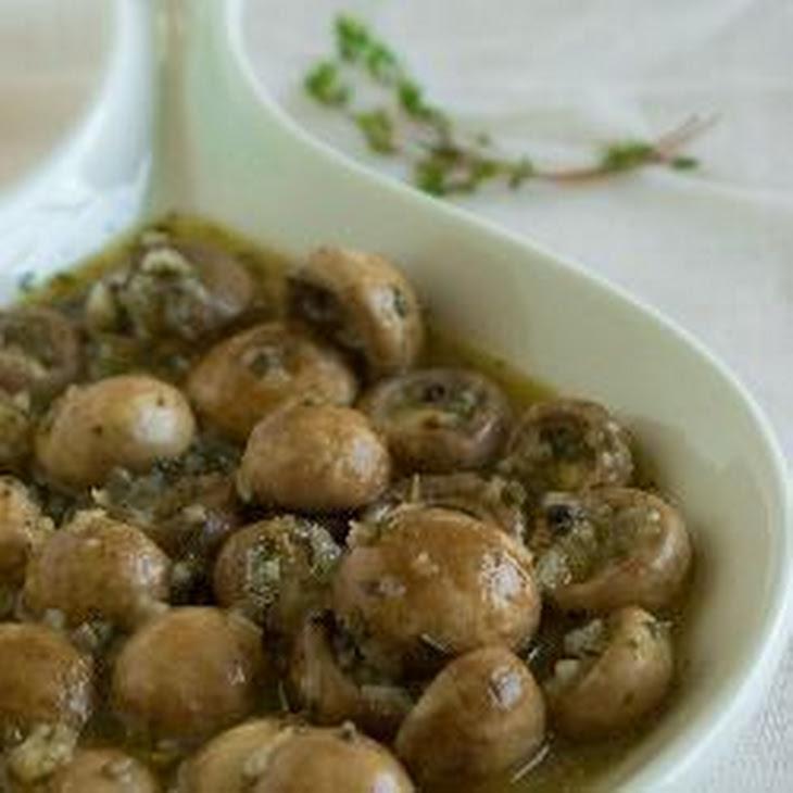 Easy Marinated Mushrooms Recept | Yummly