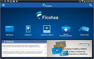 Screenshot of Ficohsa
