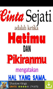 Wallpaper Cinta - screenshot