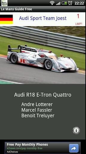 Le Mans Visual Guide