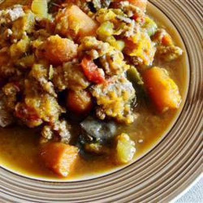 Hearty Mince and Veg Soup