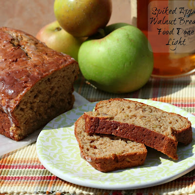 Spiked Apple Walnut Bread