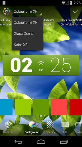 Colourform XP (for HD Widgets) - screenshot