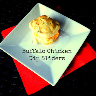 Buffalo Chicken Dip Sliders