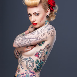 Ceri by Terry Mendoza - People Body Art/Tattoos ( person, people, tattoo )