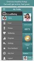 Screenshot of Tesco Health and Wellbeing