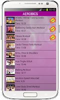 Screenshot of Lose Weight Aerobic Exercises