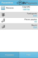Screenshot of BV Payouts