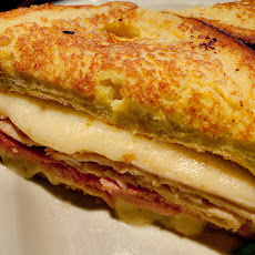 Super-Stuffed Monte-Cristo Sandwiches