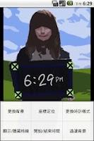 Screenshot of Photo Clock DIY