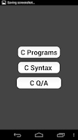 Screenshot of Complete C Programs Reference