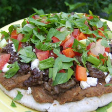 Greek Tostadas
