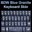 Blue Granite Keyboard Skin icon