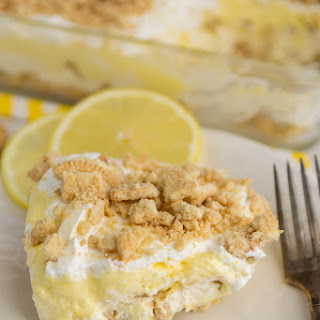 No Bake Golden Oreo Lemon Dessert