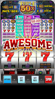 Screenshot of Triple 50x Pay Slot Machine