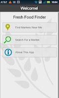 Screenshot of Fresh Food Finder