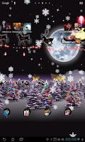 Screenshot of Christmas Live Wallpaper Free