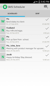 SMS Manager Free - screenshot