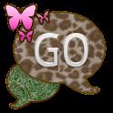 GO SMS THEME/GrassyLeopard icon