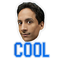 Abed Cool Button icon