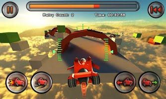Screenshot of Jet Car Stunts Lite