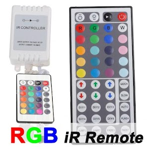 RGB iR Remote LED