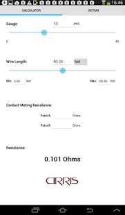 App wire resistance calculator apk for windows phone android app wire resistance calculator apk for windows phone keyboard keysfo Choice Image