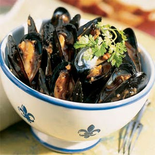 Fried Mussels With Garlic Recipes