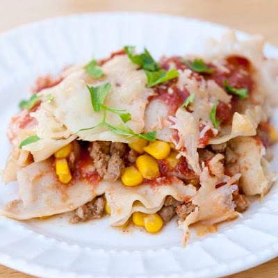 Clean Eating Mexican Lasagna