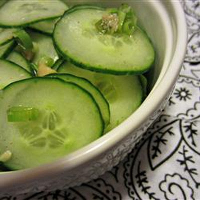 Refreshing Korean Cucumber Salad