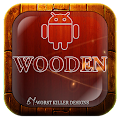 App wooden Go,Nova,Adw,Holo,Apex APK for Kindle