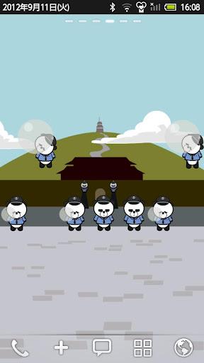 熊貓警察 動態壁紙1