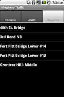 Screenshot of Allegheny Traffic Cameras Free