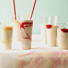 Strawberry-Banana Tofu Shake