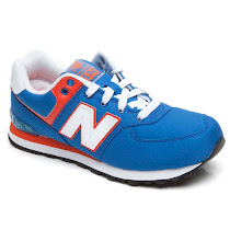 New Balance 574 A Lace Trainer LACE- UP TRAINER