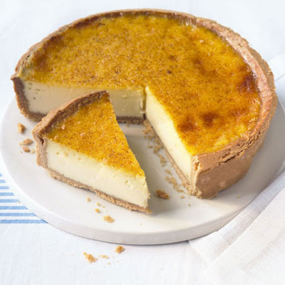 Custard Tart With Nutmeg Pastry