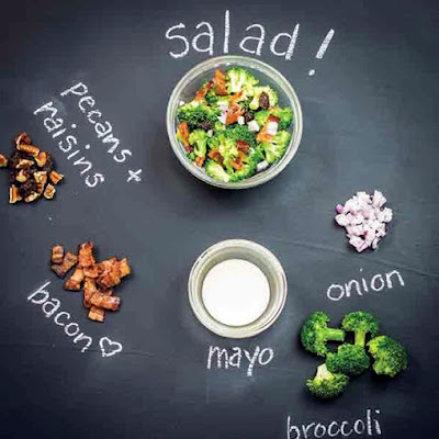 Sweet and Salty Broccoli Salad