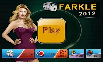 Screenshot of Farkle Dice 2012