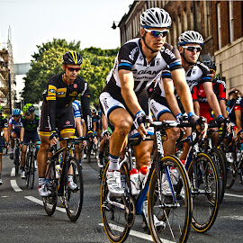 Tour of Britain  by Kevin Morris - Sports & Fitness Cycling ( tour of britain, bikes, cycling, sport )