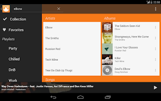 Screenshot of Grooveshark Remote