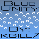 Blue Unity CM7 Theme(Trans) icon